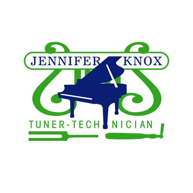 Knox piano tuner logo