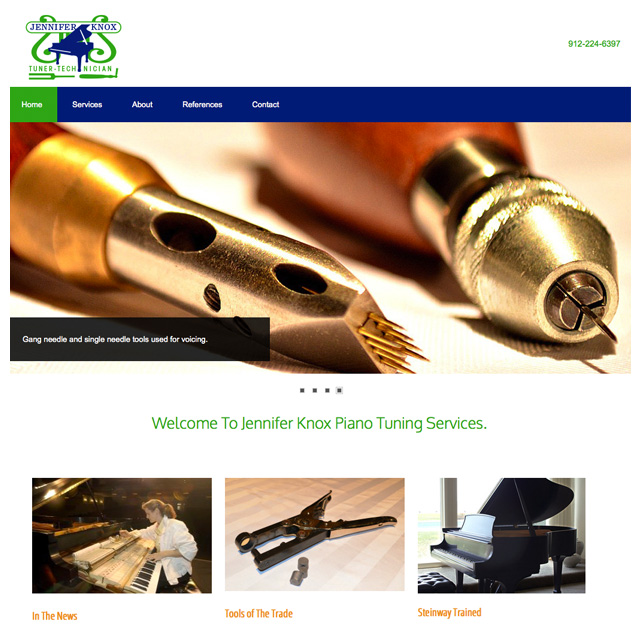 Knox web site design