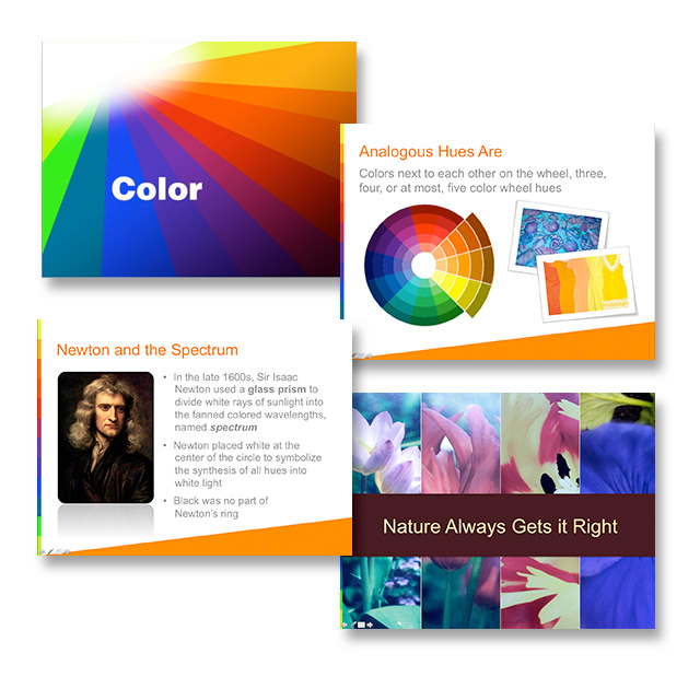Personal PowerPoint Project on color theory