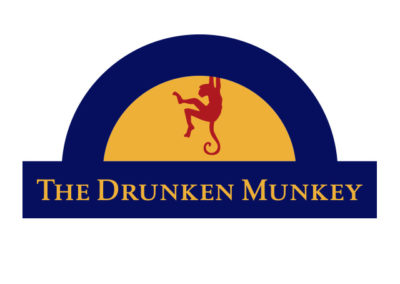 The Drunken Munkey Logo